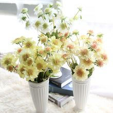 Windmill blue artificial flower rose export orchid fleshy home decoration wedding holiday 10 pcs