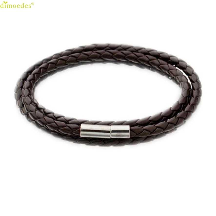 2018 Bracelets pour Femme hommes flambant neuf hommes mode Bracelets en cuir bracelet à breloques à la main ronde corde breloque Homme Femme # #