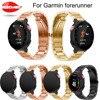 Drop Shipping Wrist Band Metal Stainless Steel Watch Band Strap Bracelet For Garmin Forerunner 220 230
