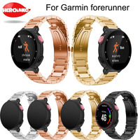 Drop Shipping Wrist Band Metal Stainless Steel Watch Band Strap Bracelet For Garmin Forerunner 220 230