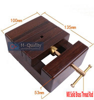 Seal Cutting Clamp Tool Luxury Indonesia Ebony+Pure Copper Wearproof Carpenter Woodworking Tool Table Bench Vise Vice