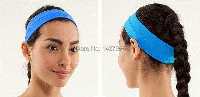 a1c734cd14f8 Women's Headwear Solid 13 Colors Casual Sports Headbands Lady's Fashion  Active Headwear Cheap Sale 2PCS/
