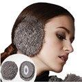 Kenmont Unisex de Señora Girl de Esquí Al Aire Libre Natural Calentador Del Oído de las mujeres de Piel de Conejo Orejeras Oído Bolsas 3939