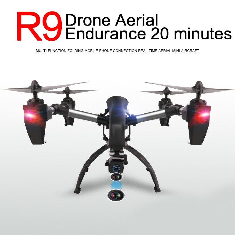 Умный 200 Вт HD камера 20 минут Летающий Дрон Квадрокоптер БПЛА самолет WiFi FPV в режиме реального времени Безголовый режим 3D flips наружные игрушки