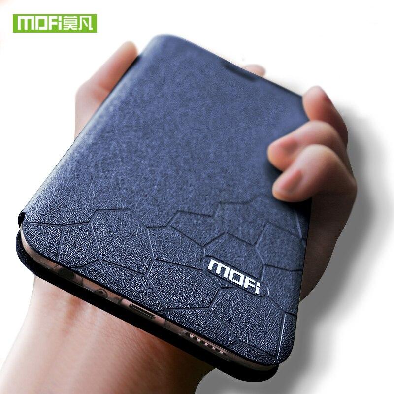 Mofi Pour xiaomi redmi note 5 pro cas couverture pour xiaomi redmi note5 pro cas en cuir de luxe pour xiaomi redmi note 5 cas de silicium