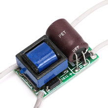3-5W Power Supply LED Driver Electronic Convertor Transformer Constant Current 300mA DC9-18V(China)