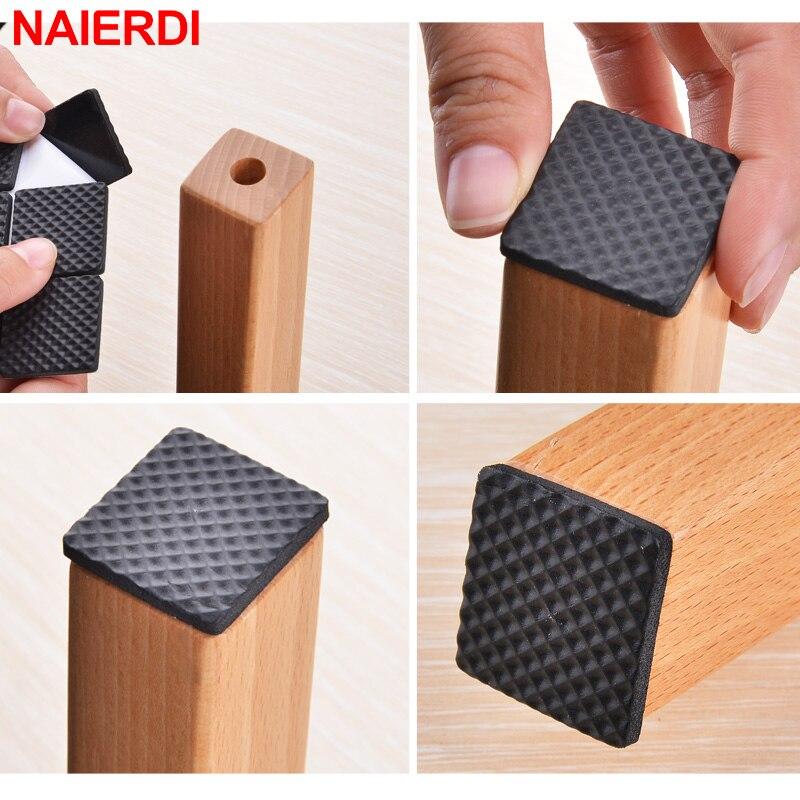 NAIERDI Противоскользящий коврик самоклеющиеся мебельные прокладки коврик для ног войлочные прокладки бампер демпфер для стула стол Защитная фурнитура-5