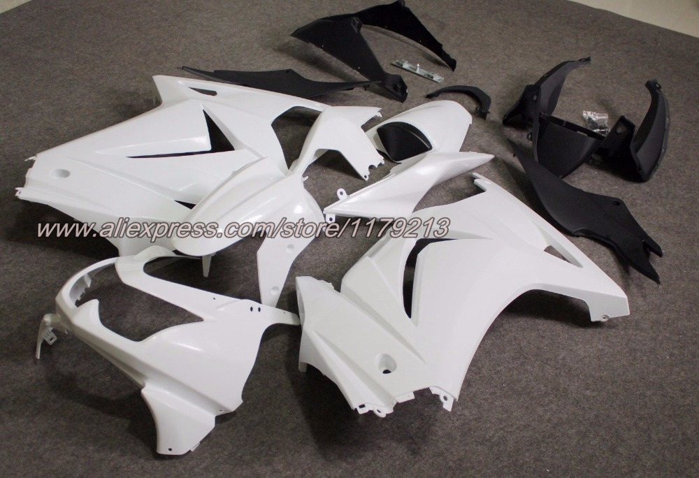 ABS Injection Motorcycle Bodywork Fairing Kit for Kawasaki Ninja 250R EX250 2008-2012 09 10 11 Unpainted