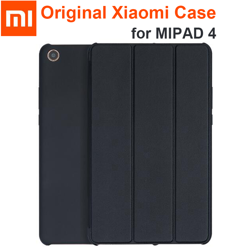 Original Xiaomi MiPad 4 / 4 Plus Case Cover PU Leather Smart Tablet Stand Xiaomi MI PAD 4 Pad4 4plus Full Protector Sleeve Bag