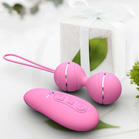 High Quality Ben Wa Ball Jump Eggs Vibrator Female Kegel Tight Rechargeable Vibrating Egg Sex Toy for Women Sex Products