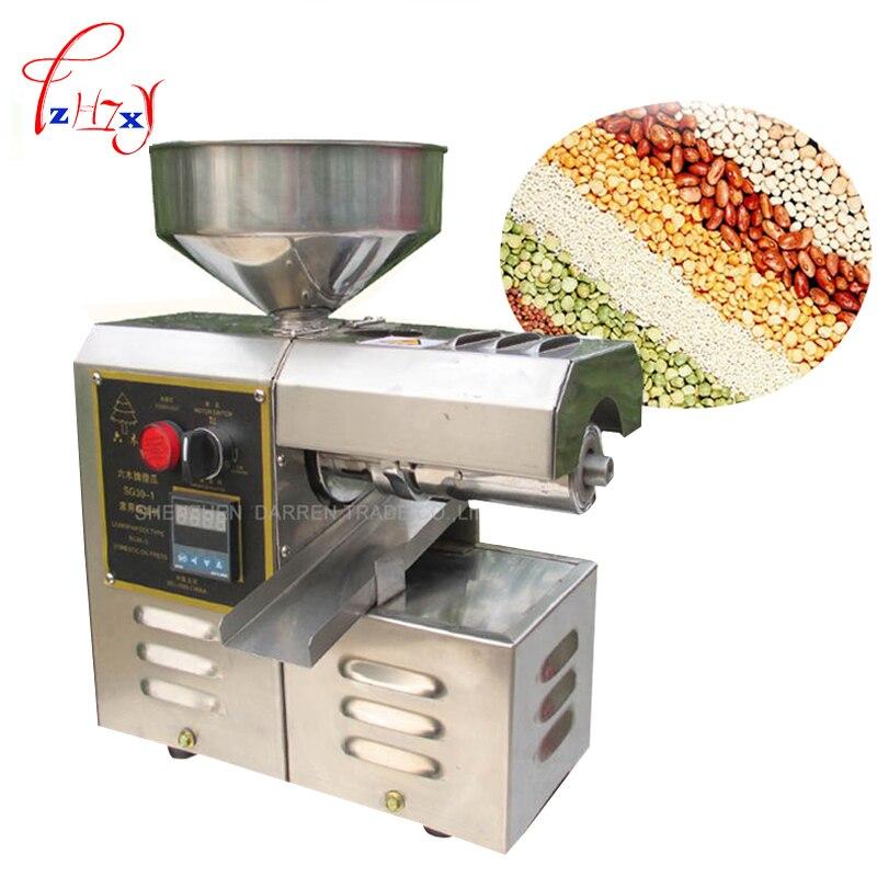 1 шт. SG30 1 пресс машина для пищевого масла, высокая скорость добычи масла экономия труда, масляный прижимной Пресс из нержавеющей стали для до