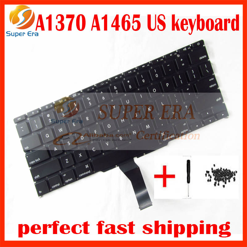 A1370 small enter English keyboard for macbook air 11'' A1465 without backlit backlight US USA 2011-2015year