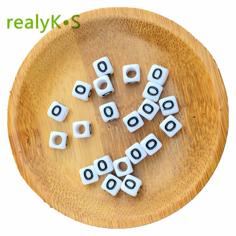 Beads & Jewelry Making Jewelry & Accessories Free Shipping Cube Single R Printing Gold Acrylic Letter Beads 500pcs 2600pcs 6*6mm Square Plastic Alphabet Jewelry Spacer Beads For Fast Shipping