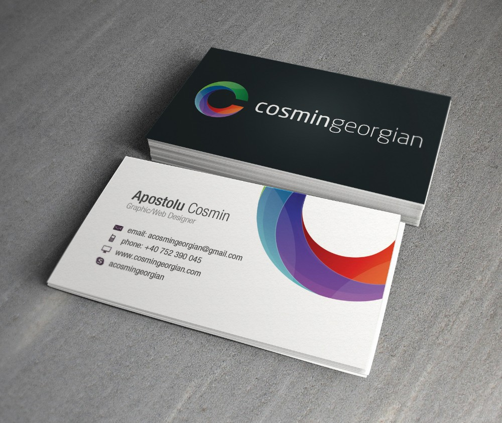 JDCMYK@ Full color print (DOUBLE SIDED)BUSINESS CARD 300gsm coated ...