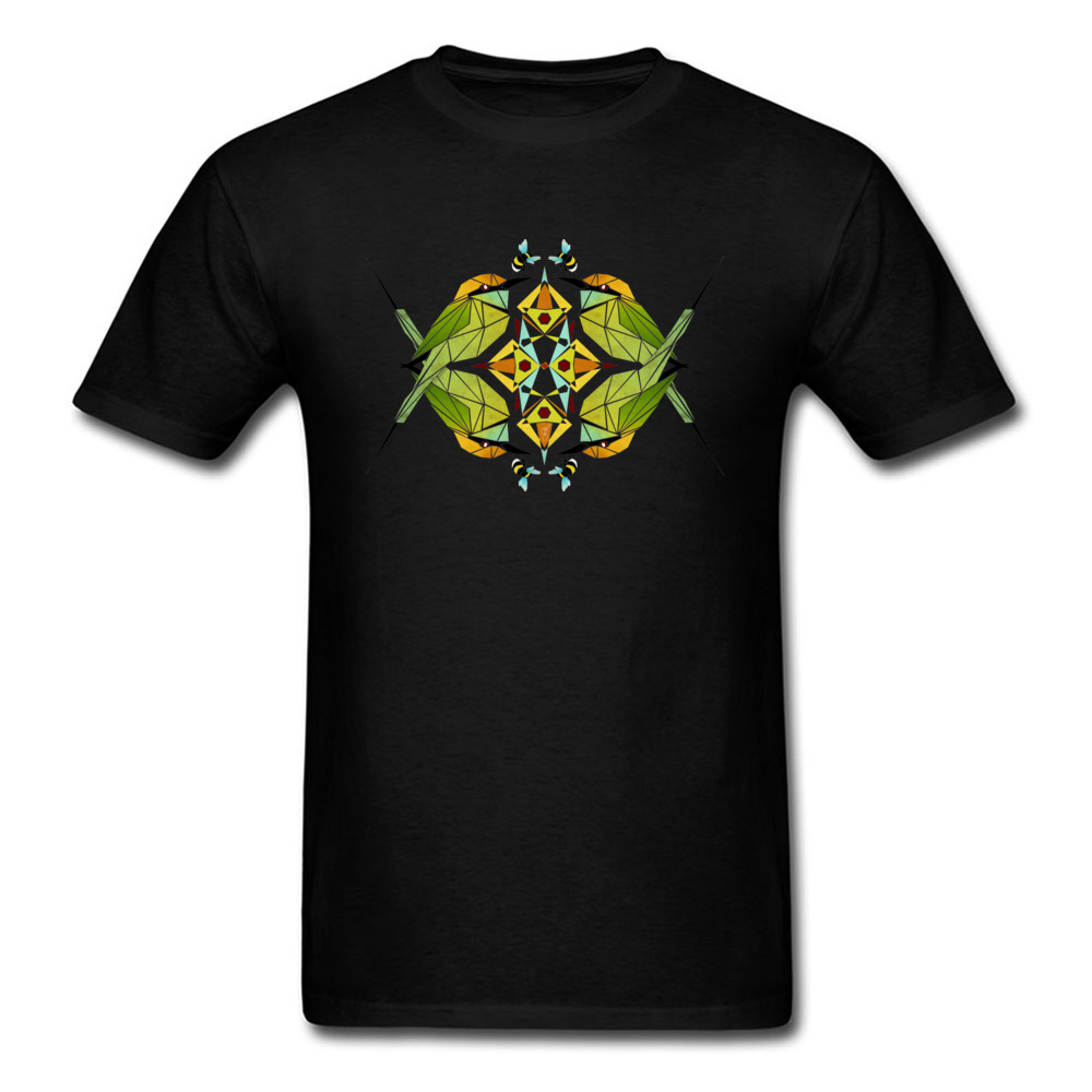 Special Mens T Shirts green bee eater Printed On Tops Tees 100% Cotton Fabric Short Sleeve Fitness Tight Tops Tees Crewneck green bee eater black