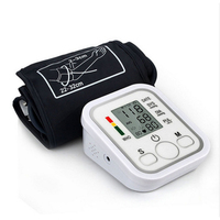 Automatic Sphygmomanometer Upper Arm Blood Pressure Monitor CE Certificated Portable Health Care Pulse Monitors