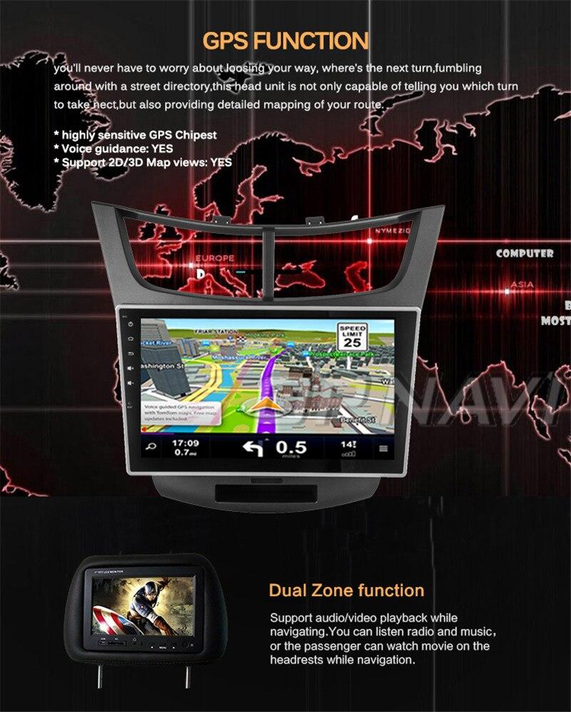 car stereo 2din For Chevrolet Sail 3 2015