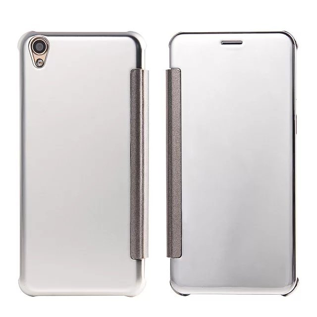 new product fa254 ea1ab US $6.99  ( OPPO F1 Plus ) Case Luxury Original Mirror View Window Smart  Flip Case Cover For OPPO R9 Mobile Phone Bags Cases Coque-in Flip Cases  from ...