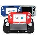 4 Cores Ultra Suave Borracha de Silicone Caso Para Wii U Protetor do corpo Gel Shell Cobrir A Pele para Nintendo WiiU Gamepad acessórios