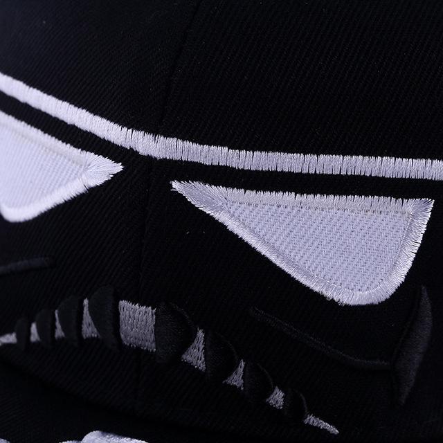 New 2015 Fashion Cotton Brand Star Wars Snapback Caps Cool Strapback Letter Baseball Cap Bboy Hip-hop Hats For Men Women