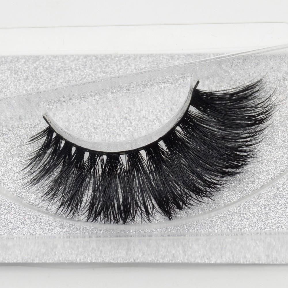visofree 3D Real Mink Lashes False Eyelash Strip Thick ...