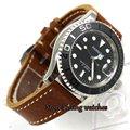 41 мм Parnis черный циферблат светящийся сапфировое стекло miyota автоматические мужские часы P8