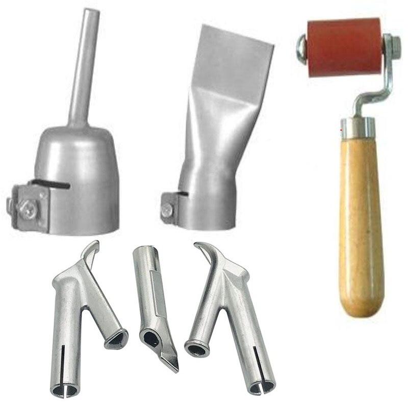 Welding Nozzle Speed Welding Tips Flat And Round Triangular Nozzle For Pvc Plastic Welder Hot Air Welding Soldering Supplies 1