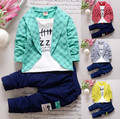 Spring Autumn Children Clothes  Boys Girl  Full Sleeve  Fashion Kids Clothes Sports Suit For Girls Jacket+Pant 2-Piece Suit Sets