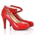 2016 Women Round Toe Pumps Platform Pumps Ultra Fashion Thin Heels Shoes Super Sexy High Heels Shoes