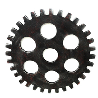 Retro Industrial Wind 47cm Gear Wall Bar Art Wall Gear Decoration Wall Mural Decoration Creative Decor