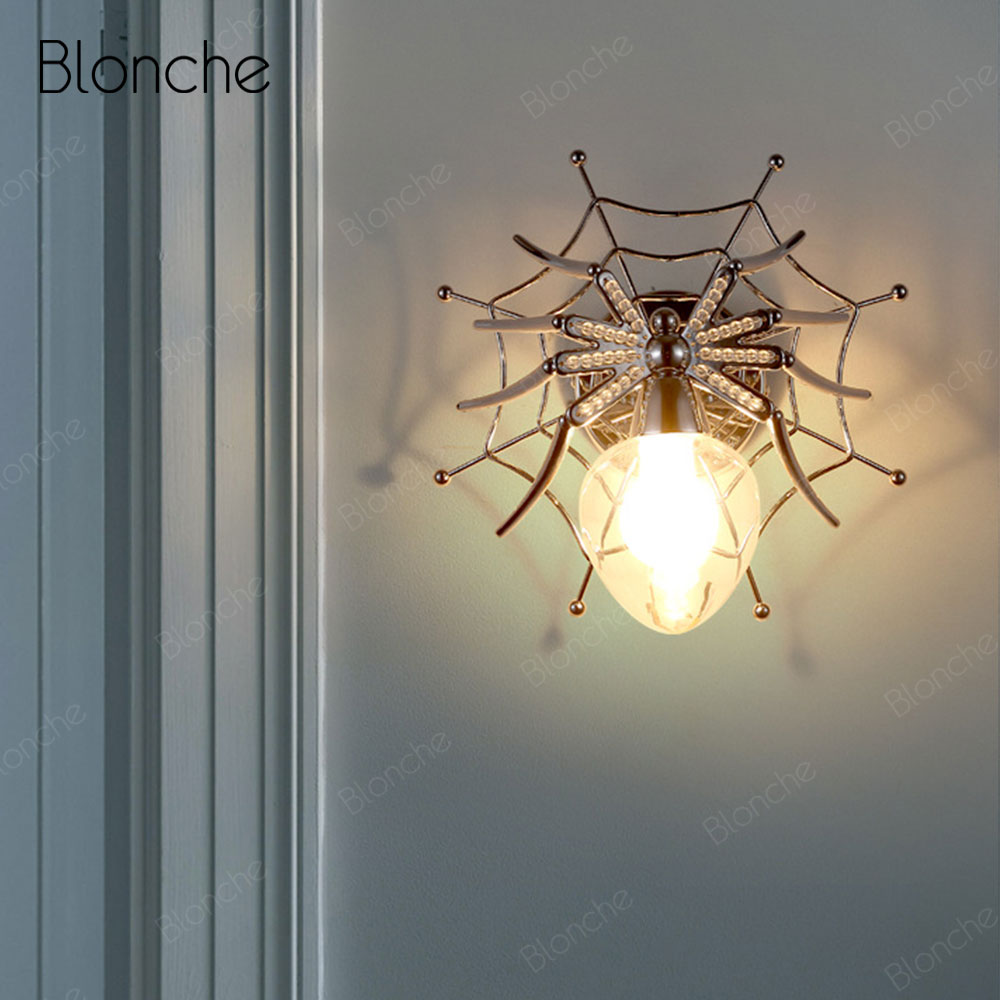 Modern Wall Lamp Metal Spider Wall Light Fixture for Home Indoor Docor Sconce Nordic LED Room Lamp Stairs Bedside Bedroom LightModern Wall Lamp Metal Spider Wall Light Fixture for Home Indoor Docor Sconce Nordic LED Room Lamp Stairs Bedside Bedroom Light