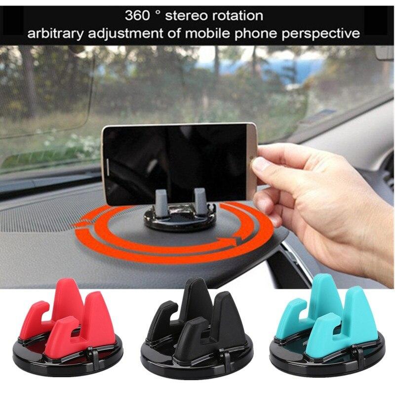 Car Adhesive Car Bracket Car Adhesive GPS Desktop Stand Bracket Car Phone Holder For iPhone X Samsung S9 portable lazy flexible arm clip bracket car holder for gps galaxy iphone 5 6