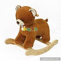 Развлечений идущей лошади игрушки деревянная музыкальная лошадка внутренних и наружных ездить на лошади игрушка для ребенка/Дети/ подрост...