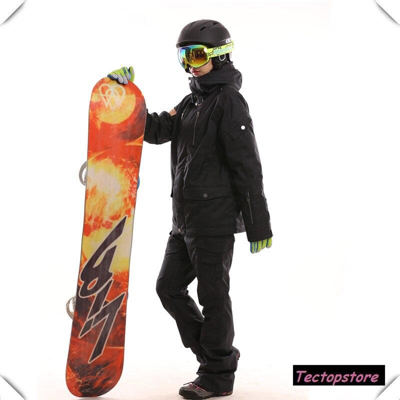 -30 degrés Marsnow haute qualité imperméable vestes Ski costume ensemble femmes snowboard pantalon montagne Ski costumes Ski vêtements ensembles