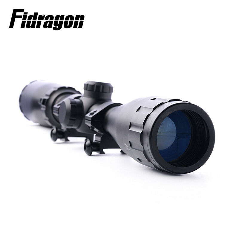Brand Tactical Rifle 3-9X40AO AO AR15 M4 Riflescope Mil Dot Reticle Optical Sight 100% shockproof for shooting real rifle