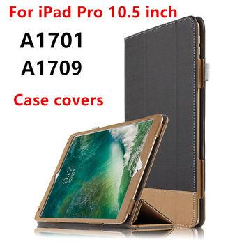 Nueva funda protectora de piel para ipad pro10.5 DE 2017 pulgadas con para Apple ipad pro 10,5 de PU