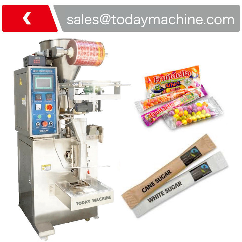 Chilli Pepper Coffee Bag Filler Salt Sugar Packaging Nutrition Protein Strip Spices Powder Filling Packing Machine