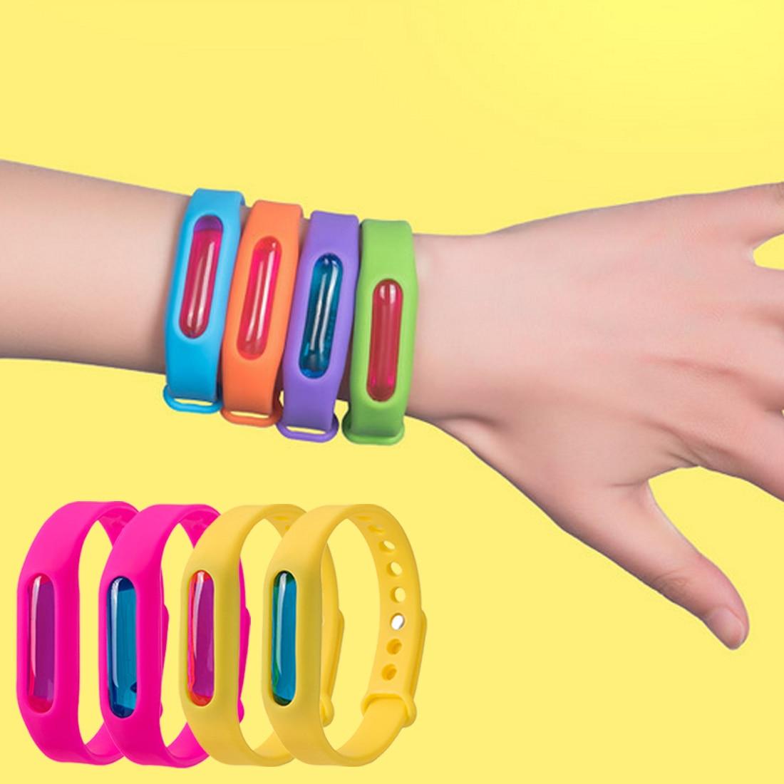 Силиконовый браслет для отпугивания насекомых Wristband в Назрани