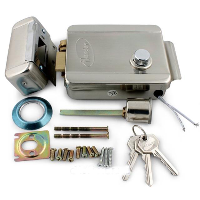 Seguridad para el hogar de seguridad de acero inoxidable cerradura electrónica para teléfono Video de la puerta de intercomunicación Elock