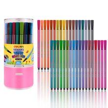 12/24/36/48 colores lavable acuarela plumas dibujo de artista marcadores bolígrafo para la escuela niños suministros regalos arte suministros