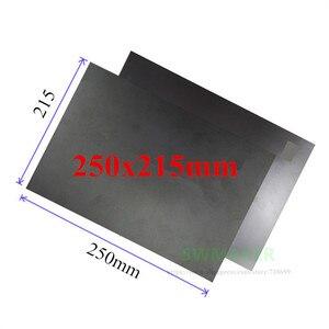 Cuadrado 250x215mm cinta adhesiva magnética de impresión de cama pegatina de impresión superficie placa flexible para DIY Flyingbear P905X impresora 3D