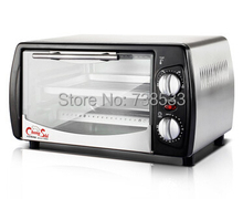 Household Baking Mini Oven 12L Stainless Steel Housing Glass Electric Oven Cake Toaster Kitchen Appliances