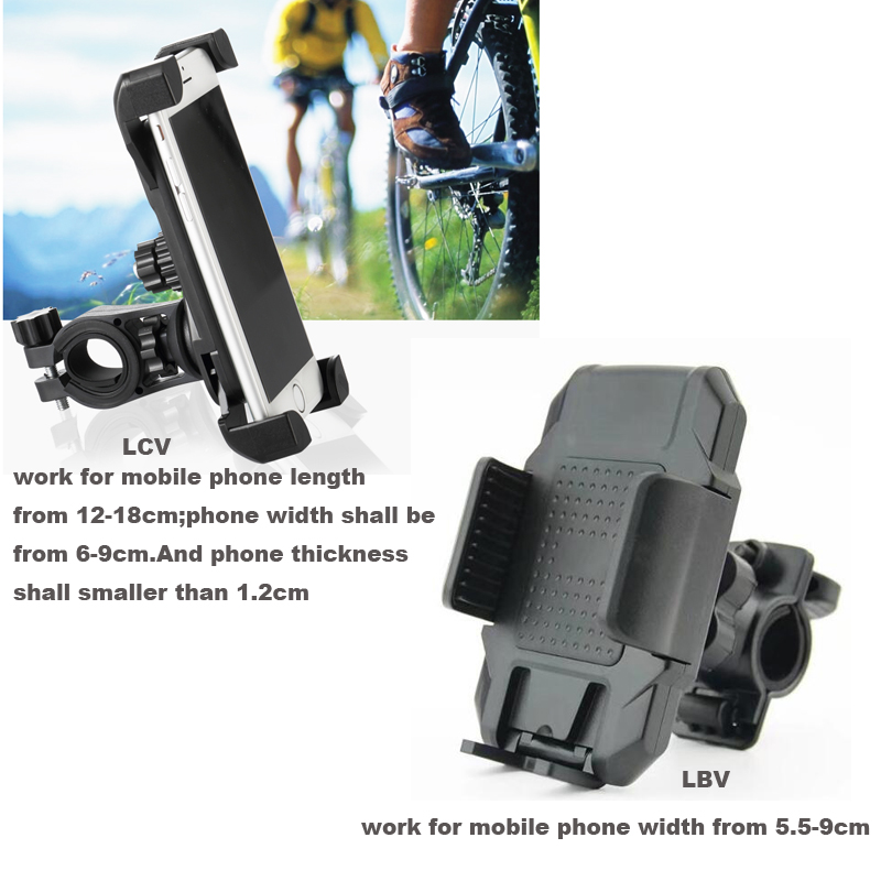 Handlebar Bike Bicycle Phone Holders Stands For Galaxy J2 A8 A8+ (2018) S9 Plus J6 A80 A70 A60 A40 A20 A10,For Nokia 5.1 6 (2018