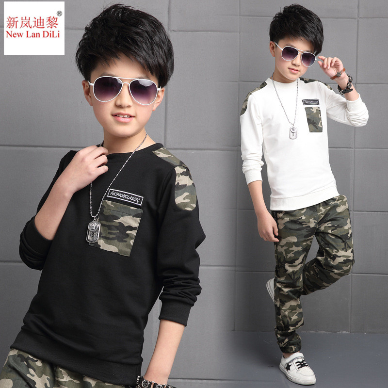 Boys Tracksuit 2019 Spring Children Clothing Sets Cotton T-Shirt + Pants 2 Pcs Sport Suit Boy Clothes Set CostumesBoys Tracksuit 2019 Spring Children Clothing Sets Cotton T-Shirt + Pants 2 Pcs Sport Suit Boy Clothes Set Costumes