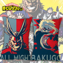 16×24″ Anime My Hero Academia Cushion Pillow Case Cover Hugging Body Home Decor