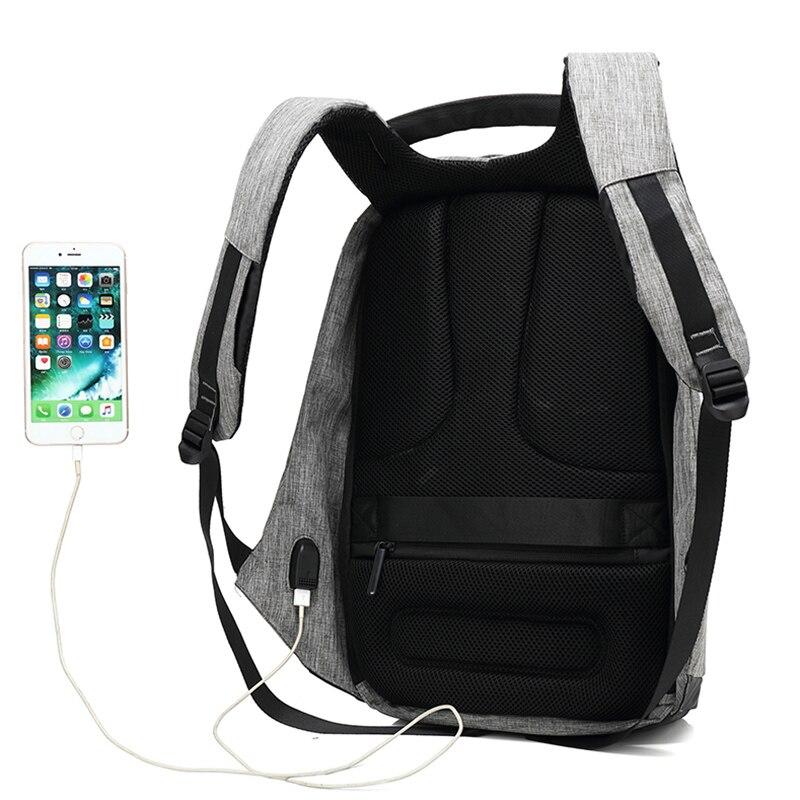 mochila com carga usb À Técnica : Gravando