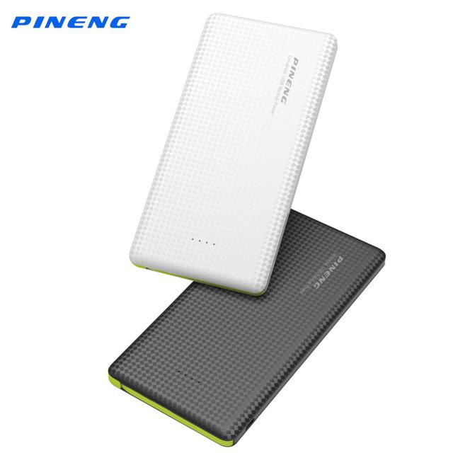 Original pineng banco de la energía 10000 mah batería del li-polímero cargador portátil usb dual del banco móvil de reserva para smartphone pn951