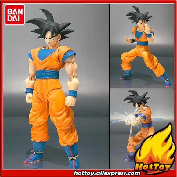 100% Original BANDAI Tamashii Nations S.H.Figuarts (SHF) Exclusive Action Figure - Son Gokou from Dragon Ball cmt original bandai tamashii nations s h figuarts shf dragon ball db kid son gokou action figure anime figure pvc toys figure