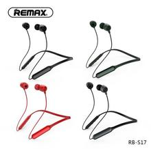 Remax RB-S17 Bluetooth Neck Wear Sports Casual Headphones Voice Noise Reduction for Smatphones