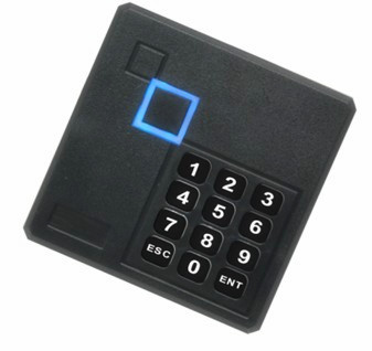 Black Waterproof 125KHz ID Card Reader Wiegand 26 Access Control Keypad RFID Reader waterproof door access control reader wiegand 26 rfid 125khz id card reader em 4100 black 101a